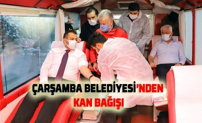 Başkan Halit Doğan'dan kan bağışına davet - Çarşamba Haber