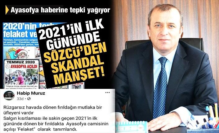Başkan Muruz'dan Sözcü Gazetesi'ne tepki