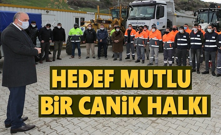 Başkan Sandıkçı'dan saha ekibine teşekkür