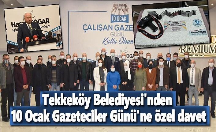 Başkan Togar Gazetecileri Unutmadı