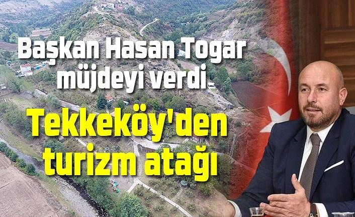 Başkan Togar müjdeyi verdi, Tekkeköy turizm merkezi haline geliyor