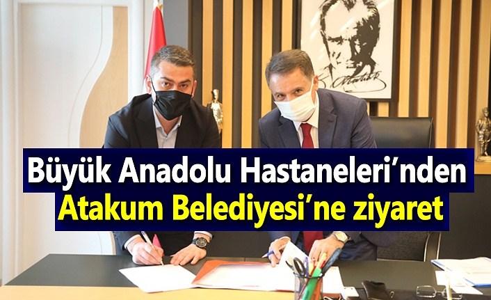 Büyük Anadolu Hastaneleri'nden Atakum Belediyesi'ne ziyaret