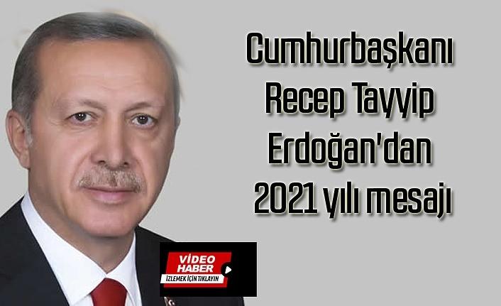 Cumhurbaşkanı Recep Tayyip Erdoğan'dan 2021 yılı mesajı