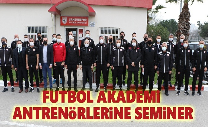Futbol Akedemi Antrenörlerine Seminer