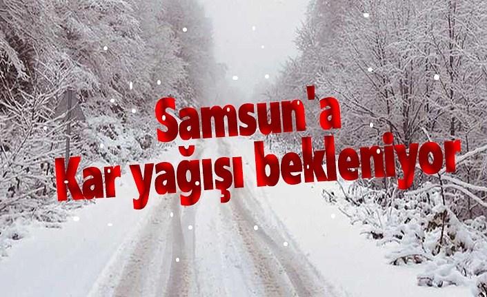 Samsun'a Kar yağışı bekleniyor