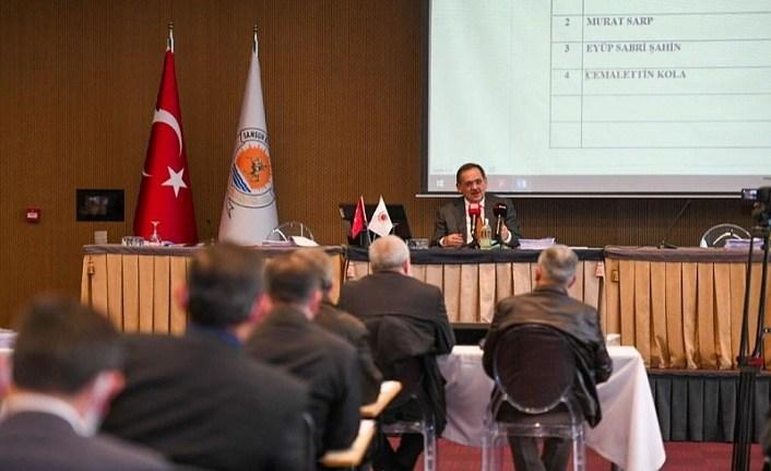 Samsun Büyükşehir Belediye Meclisi Ocak Ayı toplantısı yapıldı