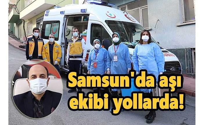 Samsun'da Covid 19 aşı uygulama süreci nasıl ilerliyor? İşte ayrıntılar