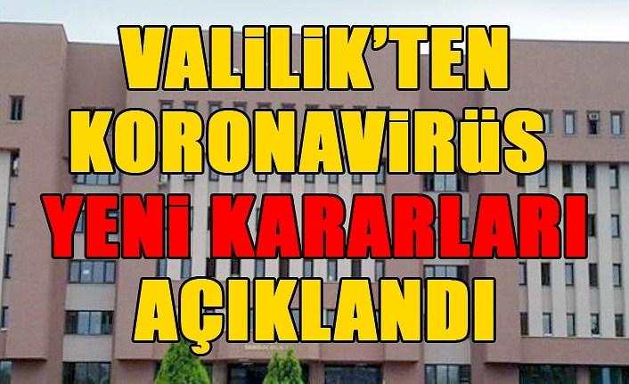 Samsun'da Halk Eğitim Kursları durduruldu, sinema salonları ise...