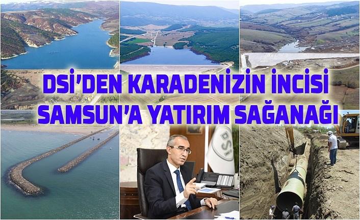 Samsun'da yatırımlar hayata geçiyor!