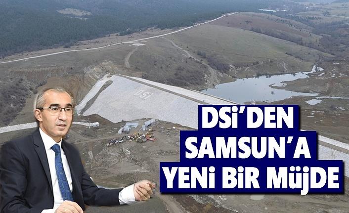 Samsun Ladik Fındıcak Barajı Tamamlanarak su tutuldu
