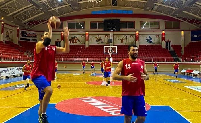 Samsunspor Basketbol Manisa Büyükşehir'e hazırlanıyor