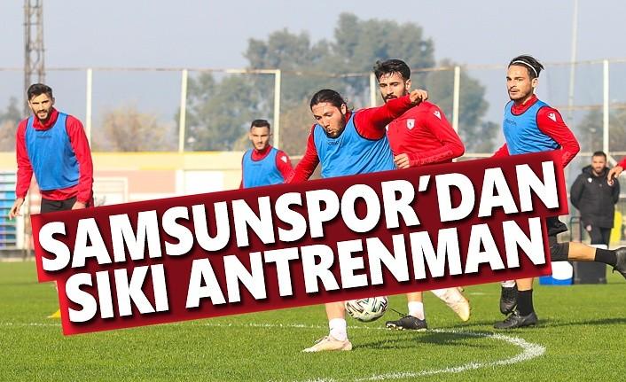 Samsunspor'dan Sıkı Antrenman
