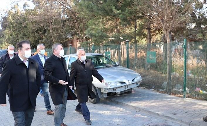 TCDD Sivas Bölge Müdürlüğü'nden Havza'da üst geçit incelemesi