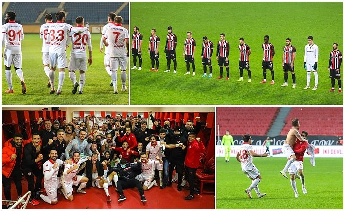 Yılport Samsunspor'un ilk yarı karnesi, Samsunspor Puan Durumu
