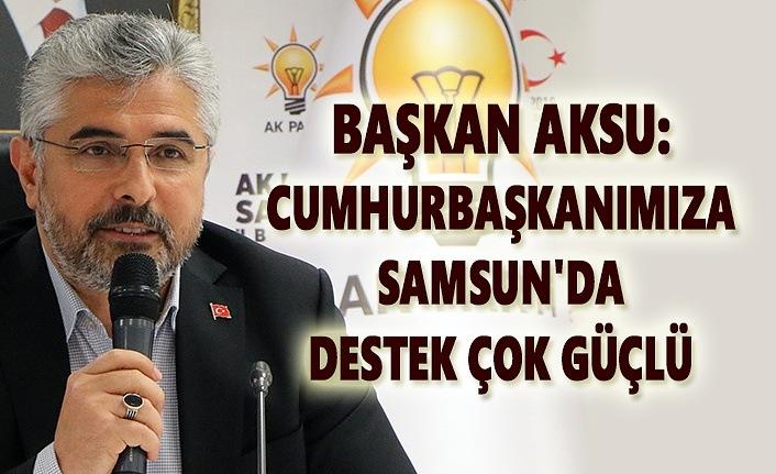 AK Parti Samsun İl Danışma Meclisi Toplantısı gerçekleştirildi