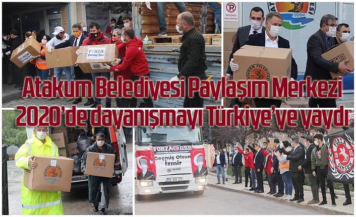 Atakum Belediyesi Paylaşım Merkezi'nden yardım eli