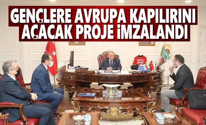 Başkan Demirtaş, İstihdama Nitelikli Personel Yetiştirecek İş Protokolünü İmzaladı