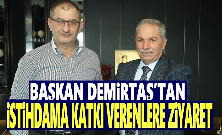 Başkan Demirtaş'tan Yeşilyurt Demirçelik'e Ziyaret