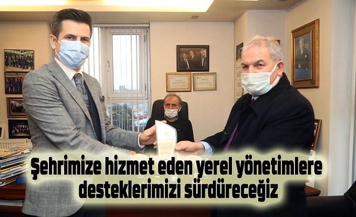 Başkan Demirtaş'ın ilk durağı Ulusoy Un oldu