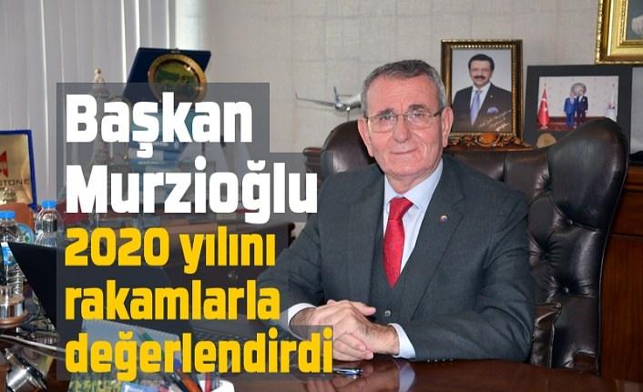 Başkan Murzioğlu: Pandemiye rağmen hizmete devam
