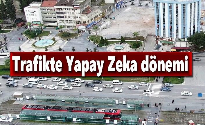 Büyükşehir'den Trafikte Yapay Zeka Dönemi