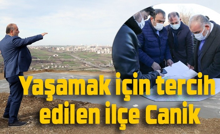 Canik'in nüfusu 100 bini aştı, ilçe göç alıyor!