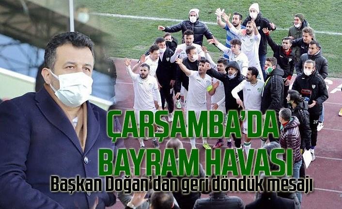 Çarşambaspor Çatalcaspor maç  sonucu : 2-1, Çarşambaspor puan durumu