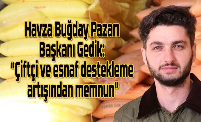 Cumhurbaşkanı Erdoğan'ın açıklaması Havza'da sevinçle karşılandı