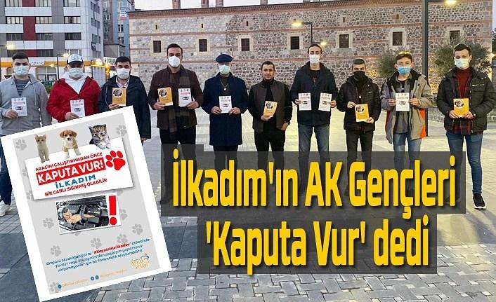 İlkadım AK Gençlerden 'Kaputa Vur' etkinliği
