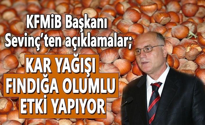 KFMİB Başkanı Sevinç'ten açıklamalar, Üreticiler tarım sigortası yaptırmalı