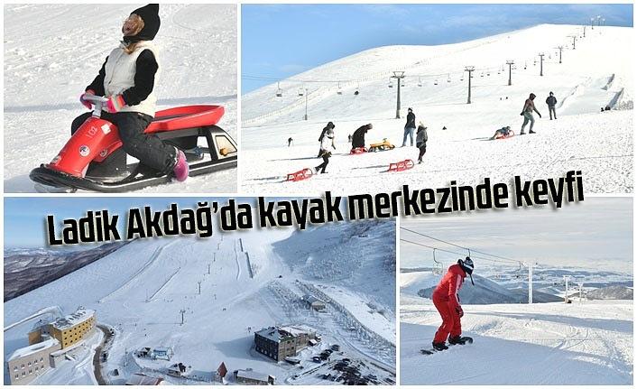Ladik kayak merkezine nasıl gidilir? Ladik Akdağ'da kayak pisti kaç metre? Ladik Akdağ telesiyej uzunluğu
