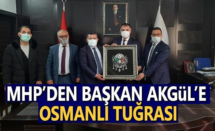 MHP'den Başkan Akgül'e Osmanlı Tuğrası