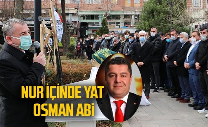 Osman Altınışık son yolculuğuna dualarla uğurlandı