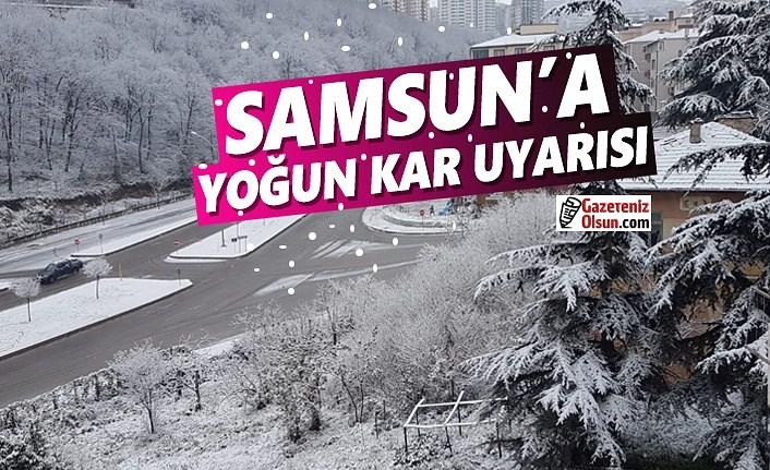 Samsun'a Yoğun Kar Uyarısı, İşte 15 Günlük Samsun Hava Tahminleri