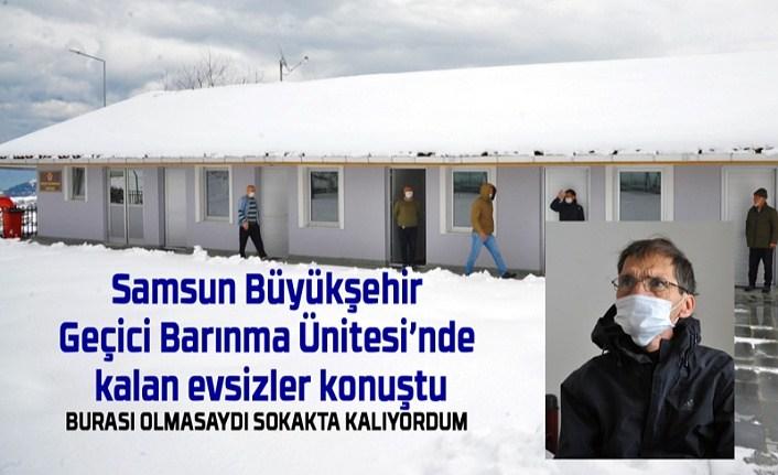 Samsun'da evsizler için barınma merkezi var mı?
