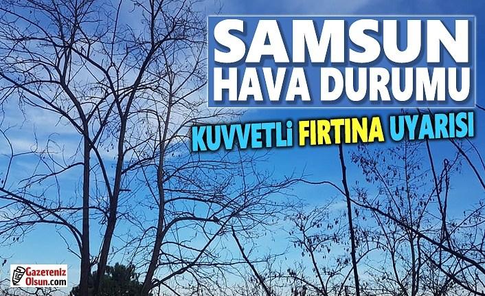 Samsun'da Fırtına Uyarısı, 9 Şubat Samsun'da Fırtına Uyarısı