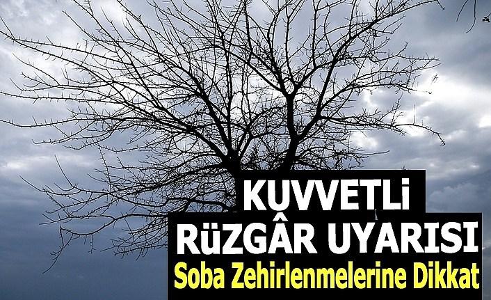Samsun'da şiddetli rüzgar uyarısı