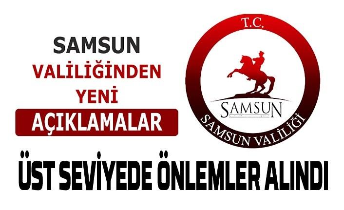 Samsun'da üst düzey önlemler alındı, 1 Nisan'a kadar uzatıldı