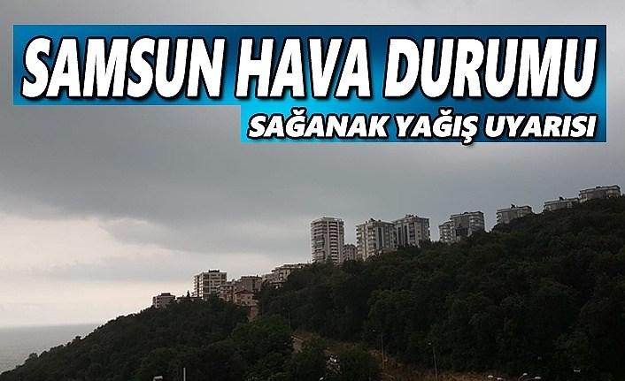 Samsun'da yağışlı günler başlıyor, 24 Şubat Samsun Hava Durumu