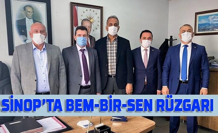 Sinop'ta BEM-BİR-SEN rüzgarı
