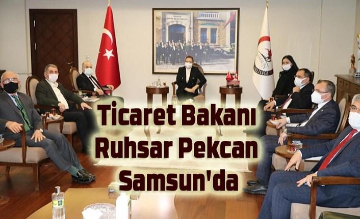 Ticaret Bakanı Ruhsar Pekcan Samsun'da
