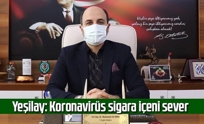 Yeşilay: Koronavirüs sigara içeni sever