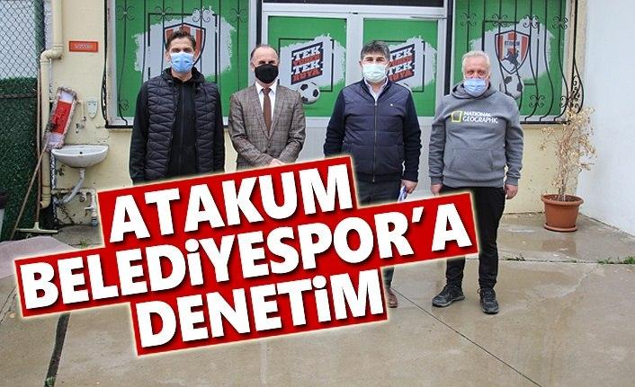 Atakum Belediyespor'a Denetim
