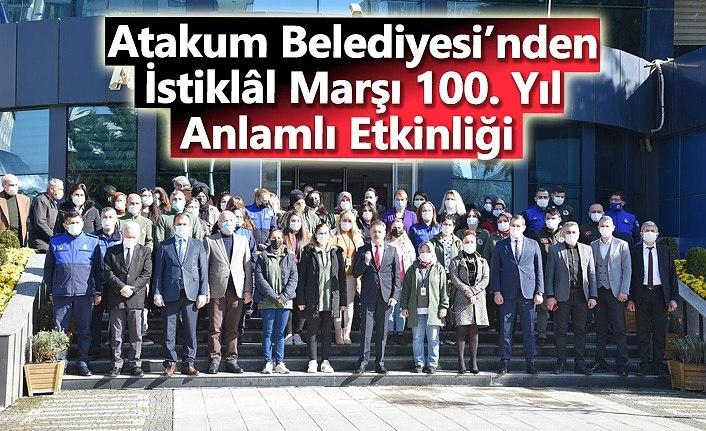 Atakum'da Gençler İstiklal Marşı için tek ses oldu