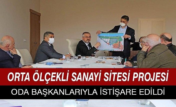 Orta Ölçekli Sanayi Sitesi Projesi istişare edildi - Bafra Haber