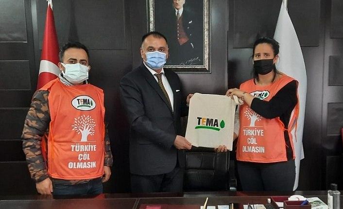 Başkan Akgül TEMA Vakfı Temsilcileri'ni ağırladı