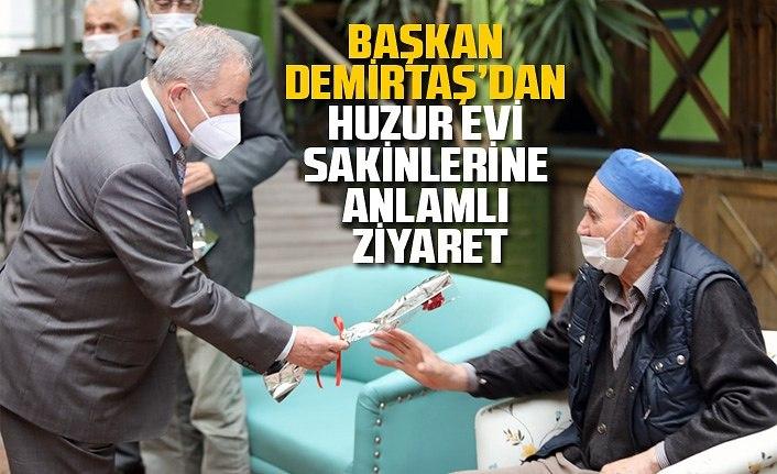 Başkan Demirtaş: Yaşlılarımıza hizmet etmek en önemli vazifemizdir