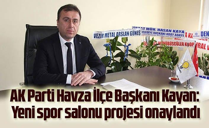 Başkan Kayan: Yeni spor salonu projesi onaylandı