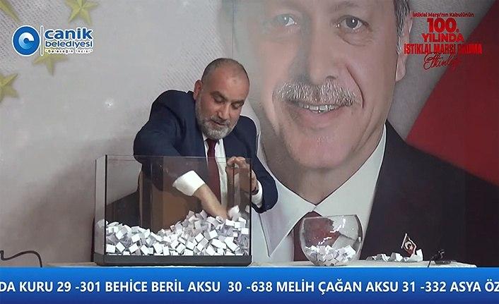 Başkan Sandıkçı'dan 112 katılımcıya ödül - Canik Belediyesi Haberleri