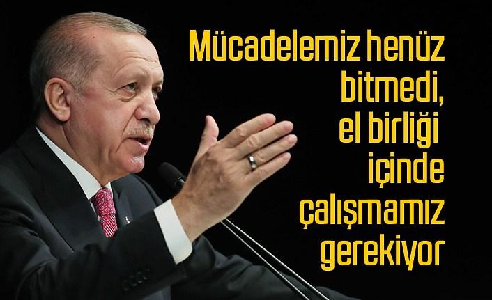 Cumhurbaşkanı Erdoğan sağlık çalışanlarına mektup yazdı